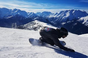 Snowboard Camps in the French Alps